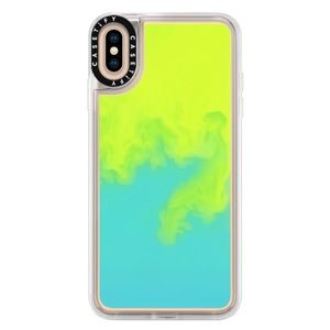 """CASETiFY """"Neon Sand Waterfall"""" iPhone XS MAX"""